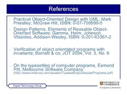Design Patterns Elements Of Reusable Object Oriented Software Pdf Delectable Computer Laboratory Digital Technology Group Skills Talk Techniques