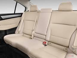 2016 subaru legacy rear seat