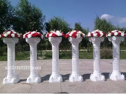 european style 38 6hollow artificial roman columns plastic pillars road cited wedding props event decoration supplies