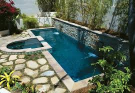 rectangular pool designs with spa. Small Pool Designs Rectangle With Elevated Overflow Spa Plans For Yards . Rectangular T