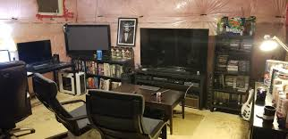 Office game room Theme Its Not Fancy But Love My Imgur Its Not Fancy But Love My