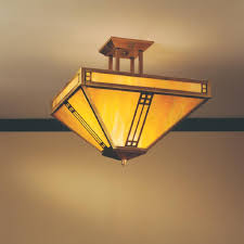pih 15 arroyo craftsman prairie series indoor rated inverted semi flush searchlighting com residential and commercial lighting