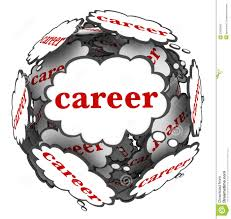 career vs job sphere cubes work opportunity growth development career thought clouds sphere thinking plan path royalty stock photo