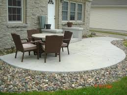 cost of patio pavers cost of patio cost of concrete patio versus pavers