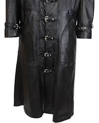 jacketsblack duster full length sheep leather coat t15 blk prev