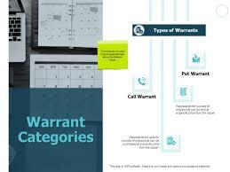Ppt Calendar 2015 Warrant Categories Calendar Ppt Powerpoint Presentation