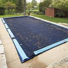 winter pool covers. Unique Covers Swimline Winter Cover  Pool Size 22ft X 40ft Rectangle 10 Yr Blue Inside Covers U