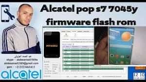 Alcatel pop s7 7045y firmware flash rom ...