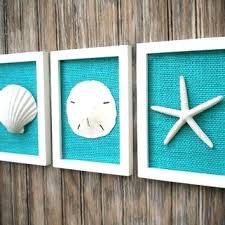 beach wall art fish etc coastal decor fascinating with prepare 3 for living room