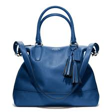 Legacy Leather Satchel Handbag Coach Legacy Leather Rory Satchel in Blue  Lyst ...
