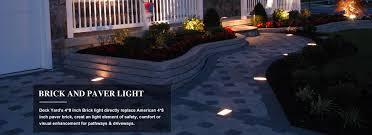 Brick Paver Lights Landscape Brick Paver Light