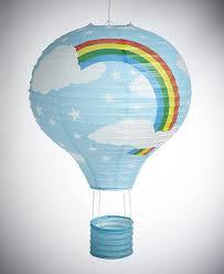 Paper Lantern Bedroom Rainbow Balloon Light Shade Pink Paper Lantern Bedroom Fun Lamp
