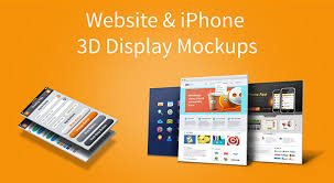 Website Mockup Template Mesmerizing Website IPhone 48 48D Display Mockups Vol48 PSD GraphicsFuel