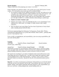 Veterinary Technician Resume Resume Templates