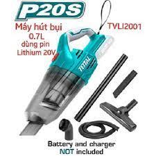 Máy hút bụi dùng pin Lithium 20V TOTAL TVLI2001 (KHÔNG KÈM PIN VÀ SẠC)