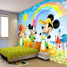 Mickey Mouse Decorations For Bedroom Wall Design For Kids Interesting Decoration Kids Bedroom Wall