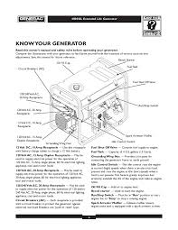 generac 4000xl generator owners manual generac 4000xl generator owners manual page 6