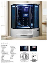 Shower room,enclosed steam shower room,modern shower cabin Q-A10029