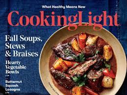 Cooking Light Healthy October 2018 Recipe Index Cooking Light Cooking Light