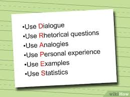 How To Write An Essay Using The Drapes Method 4 Steps