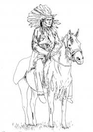 Small Picture Native American Coloring pages for adults JustColor Page 2