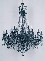 portfolio 6 light black chandelier at com
