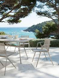 scandinavian outdoor furniture. easy to clean and weatherresistant outdoor decor with modern style scandinavian furniture a