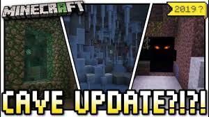 Minecraft - 2019 CAVE UPDATE ? [ #CAVE ...
