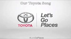toyota logo let s go places. Perfect Toyota Our Toyota Song  In Logo Let S Go Places G