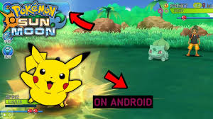 Best High Graphics Pokemon Sun and Moon Game On Android For Free + Download  link - YouTube