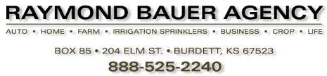 Raymond Bauer Agency, Burdett, KS