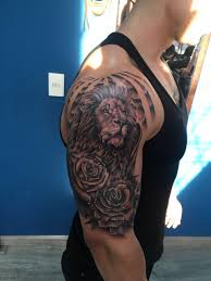 Female Half Sleeve Tattoos Designs Half Sleeve Female Lion Tattoo Tattoos Ideas