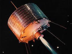 Спутниковая связь Википедия Спутник связи syncom 1