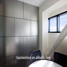 stainless steel wall panels stove in