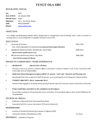 Objective In Resume For Fresh Graduate Free Resumes Tips