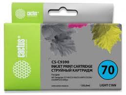Картридж струйный Cactus CS-<b>C9390</b> №<b>70 светло</b>-<b>голубой</b> ...