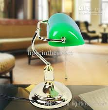 office table lamps. 2018 Retro Table Lamps Vintage Brass \u0026 Green Lampshade Living Room  Office Study Desk Lamp From Lightintheroom, $128.65 | Dhgate.Com Office Table Lamps R