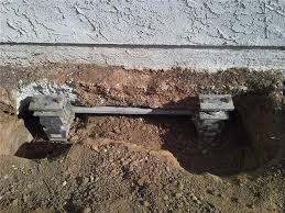 foundation repair san diego. Simple Foundation Installed Foundation Piers And Support Beams On A San Diego Property With Foundation Repair T