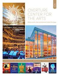 Ted Shawn Theater Seating Chart 2018 19 Season Subscription Brochure By Overture Center For