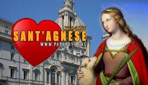Il Santo di oggi 21 Gennaio 2020 Sant'Agnese, Vergine e Martire