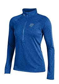 under armour 1 4 zip pullover. under armour gvsu lakers womens blue grainy tech 1/4 zip pullover - image 1 4