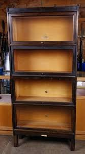 glass front bookcase image 1 lawyer glass front stacked bookcase glass front bookcase wood