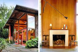 round table mill valley clad with wood on both its interior and exterior mill valley home blends indoors and out left large doors connect the patio with the