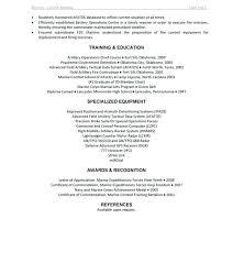 Infantryman Sample Resume. Marine Corps Resume Marine Corps Infantry ...