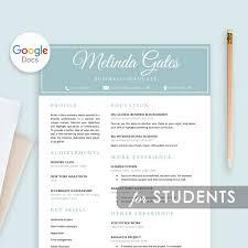20 Google Docs Resume Templates Download Now