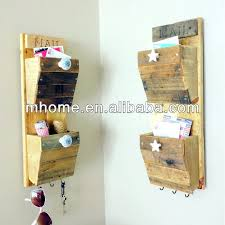 wooden mail organizers letter holders wall mounted wooden mail holder vintage wood desk organizer with drawer