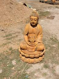 large lotus buddha fountain