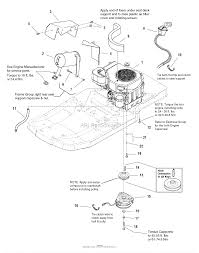 Murray 2690428 107 277720 zt 7000 20hp koh w 44 mower deck rh jackssmallengines kohler small engine wiring diagram kohler engine wiring harness diagram