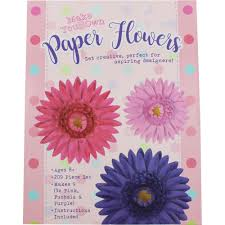 Buy Paper Flower Make Your Own Paper Flowers Assorted Craft Hobbies At The Works