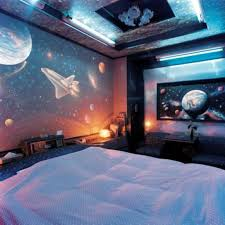 Room wallpapers space